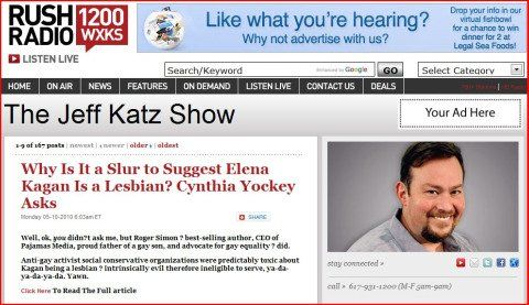 Sorry, show Conservative host talk lesbian pity, that now