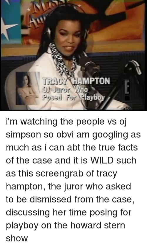best of Playboy Oj nude juror tracy hampton