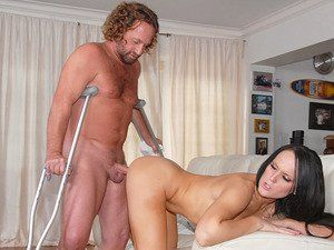 Threesome wife reluctant watched