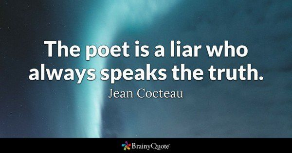 best of Liars Poems and fakes about
