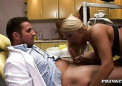 Ember reccomend Girl gives dentist blowjob Blowjob