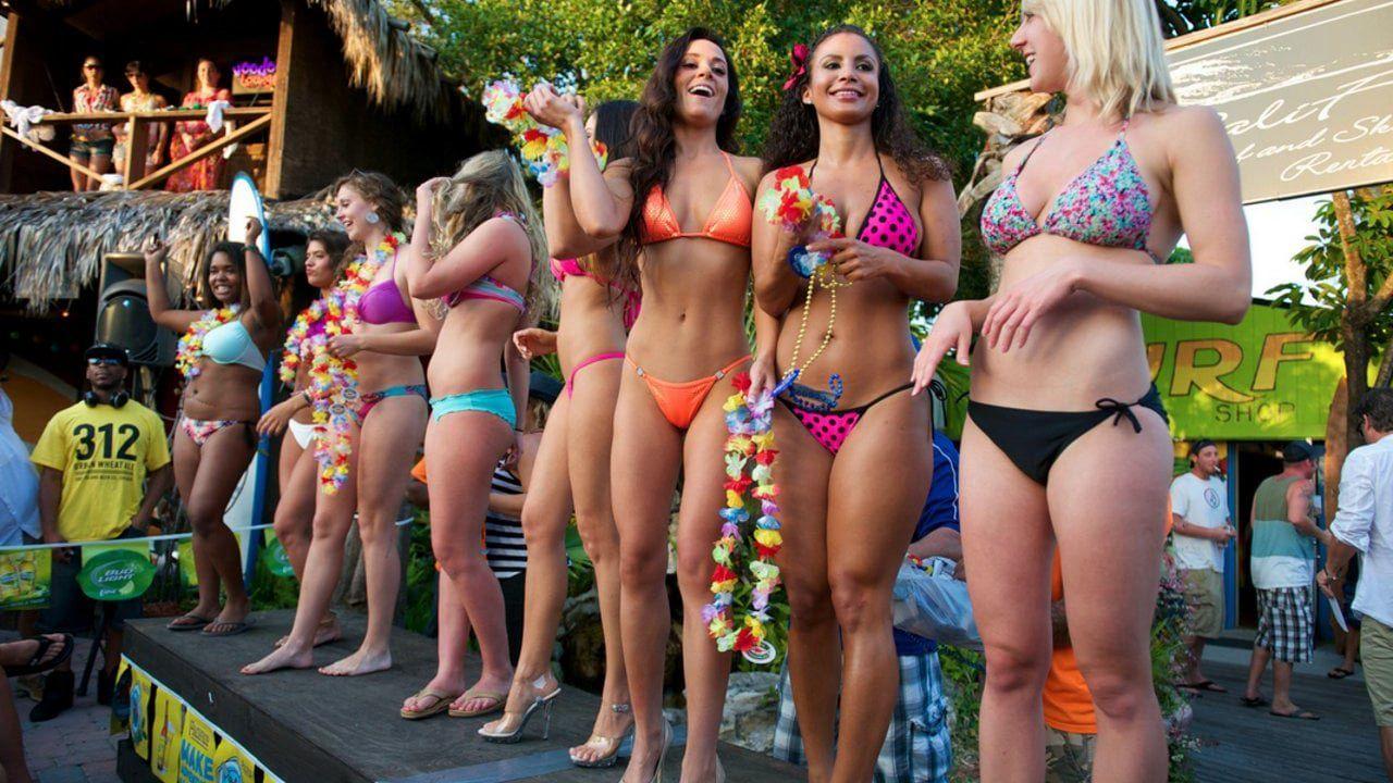 Napoleon reccomend College girls at spring break bikini contests