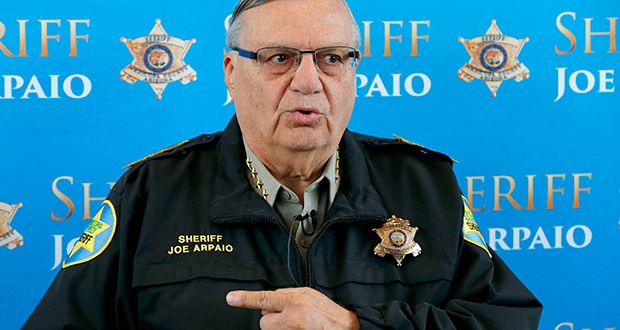 Emerald reccomend Sheriff joe arpaio is an asshole