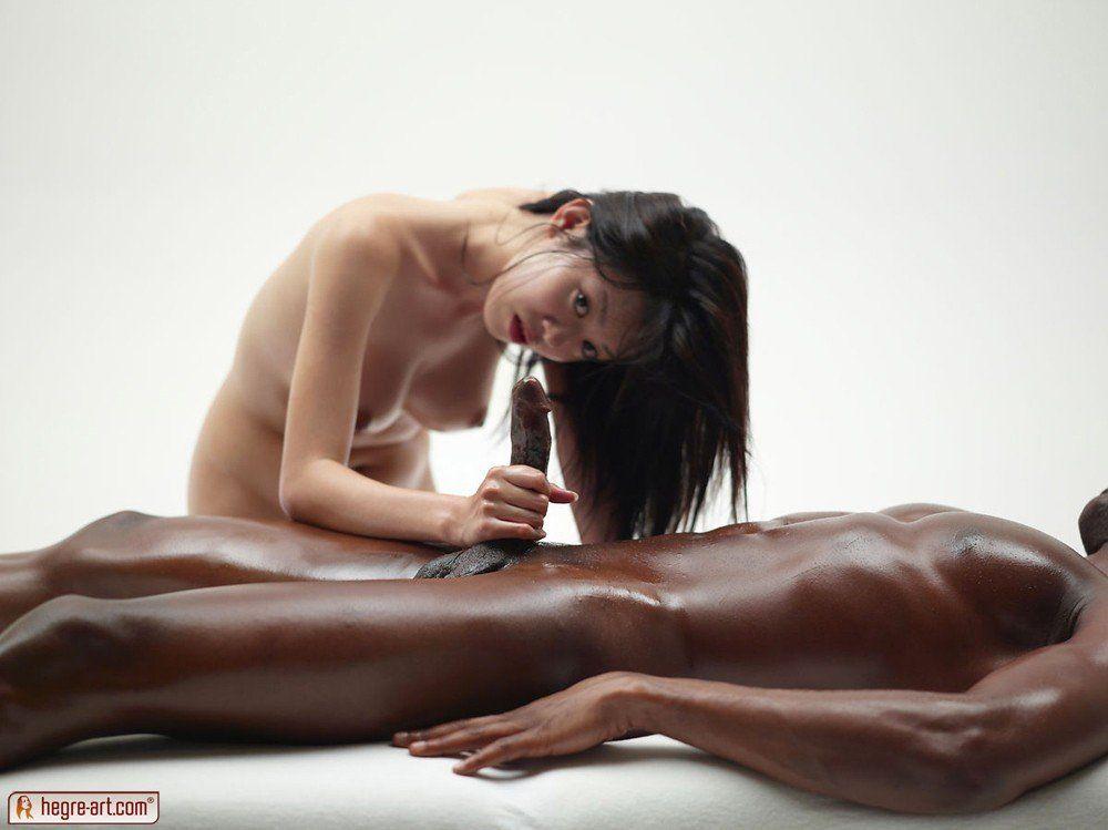 Hegre art penis massage cum xxgasm
