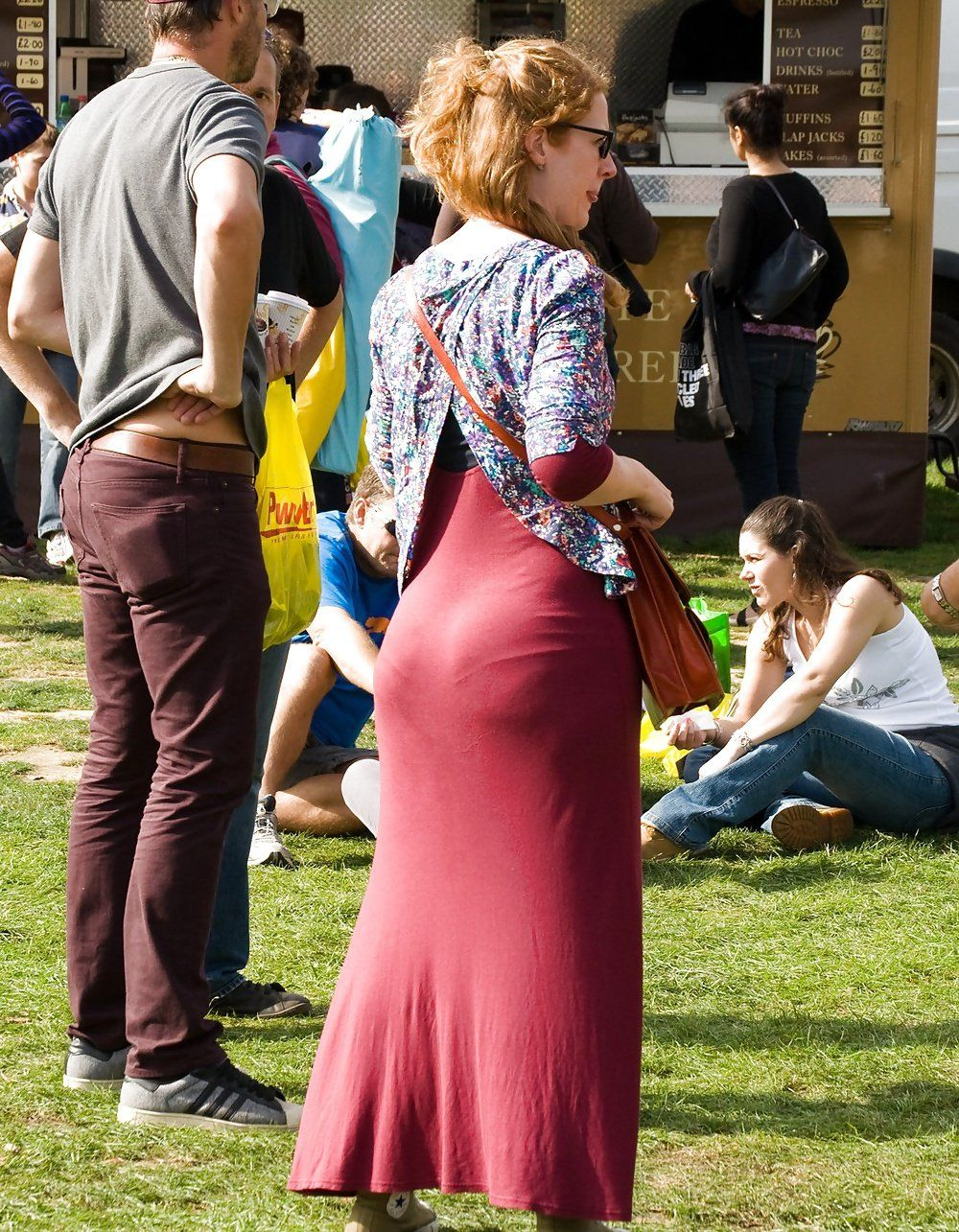 Dress butt tight candid booty ass big can mean?