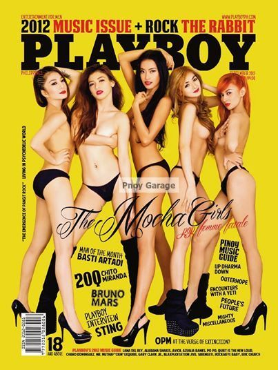 Playboys girls with girls covers