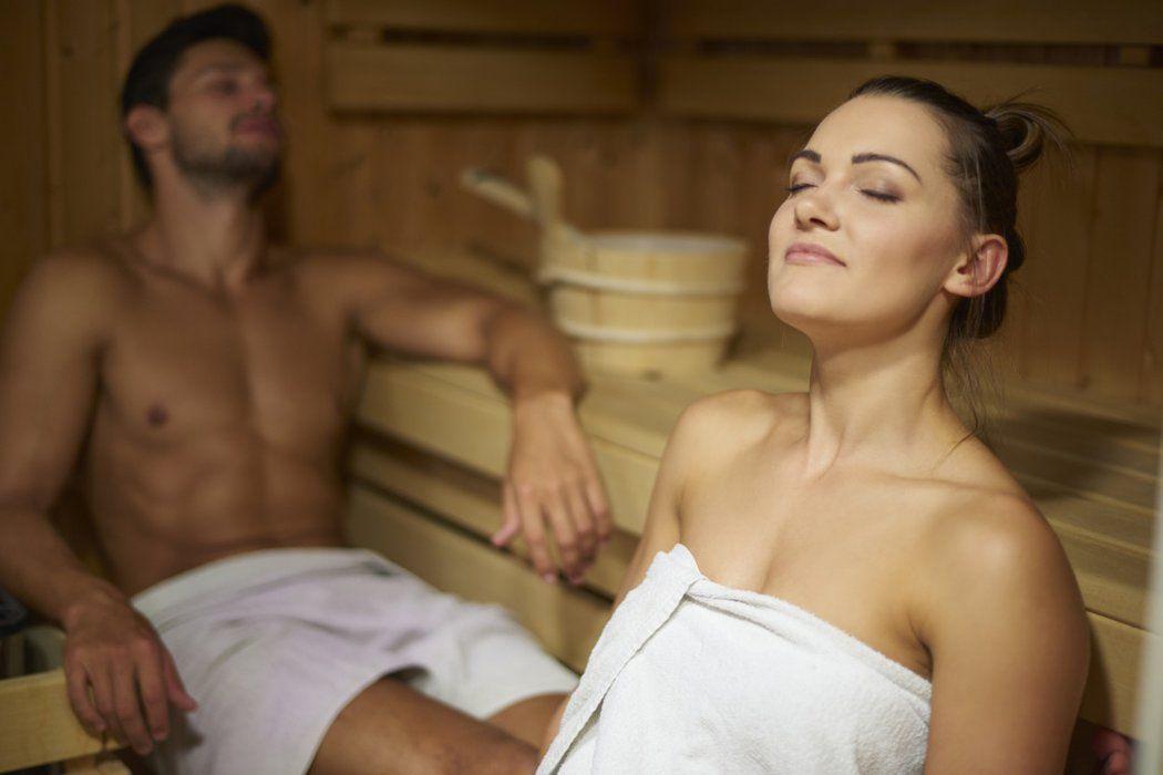 In der sauner sex Sauna: 1,029
