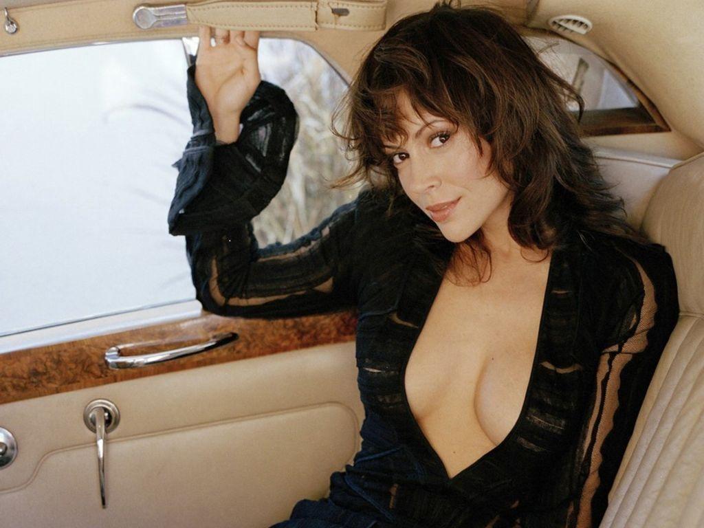Alyssa Milano Nude Free alyssa milano sex in a car . porno photo.