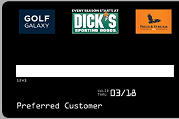 best of Card credit sporting Dick goods