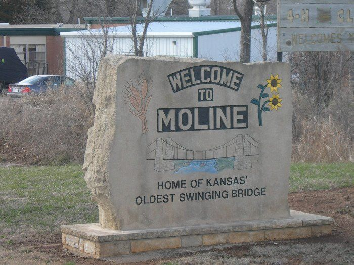 best of Kansas restaurant moline Swinging bridge