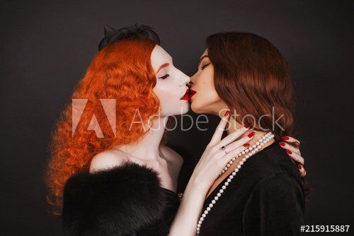 Lesbian girls with hair