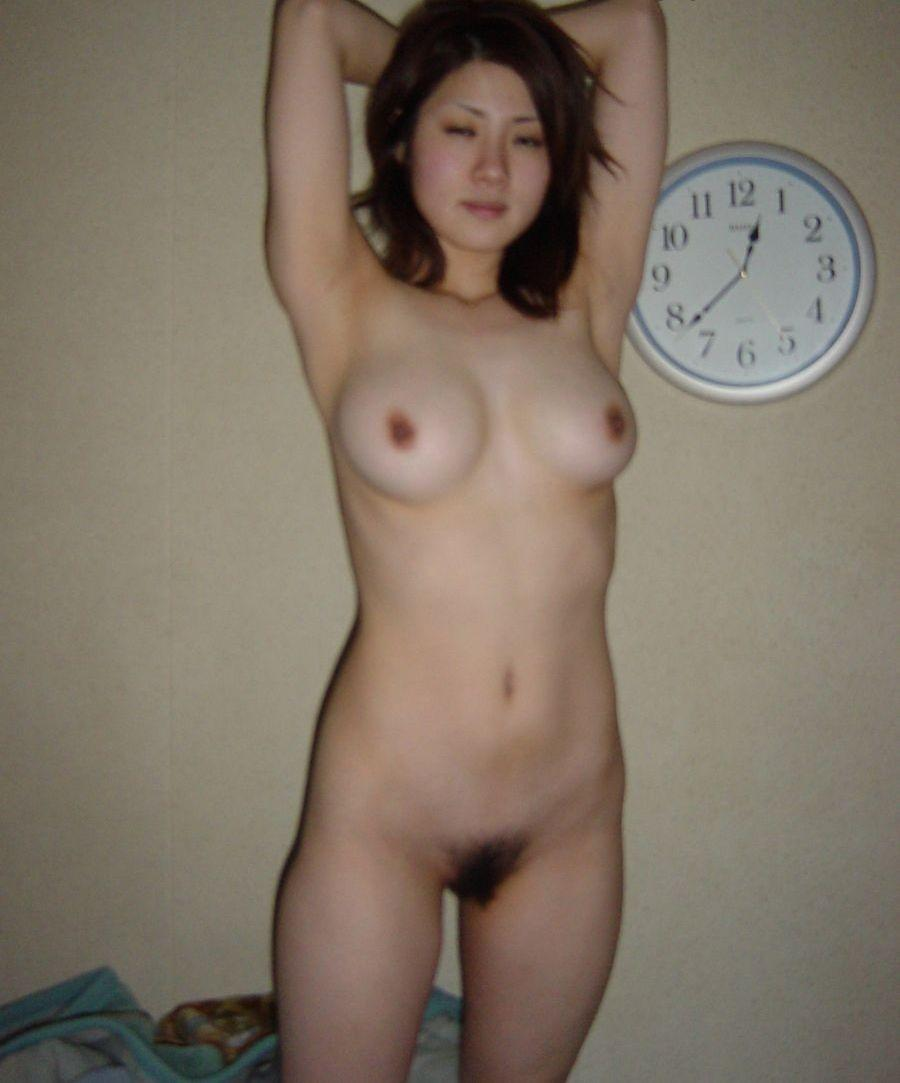 Chinese student's amateur nude