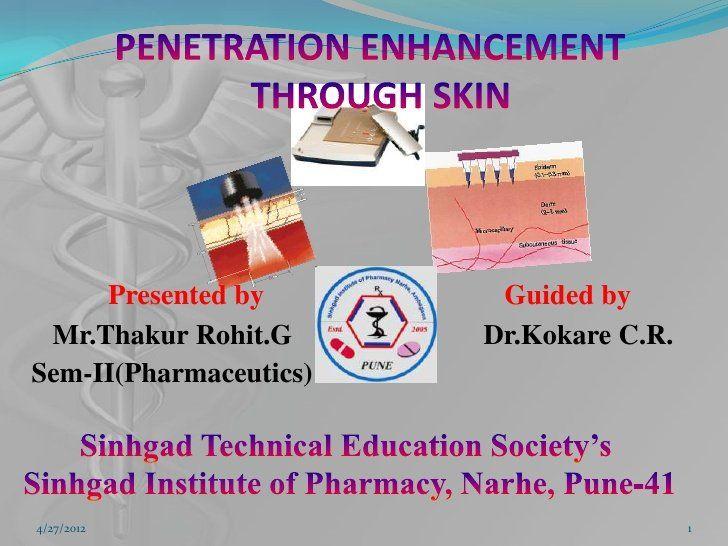 Strategies for skin penetration