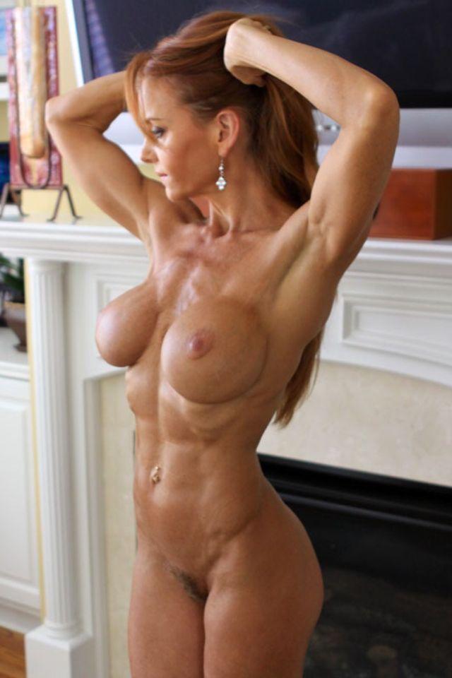 Fit mature nude