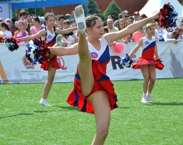 Brandy reccomend Free upskirt cheerleaders