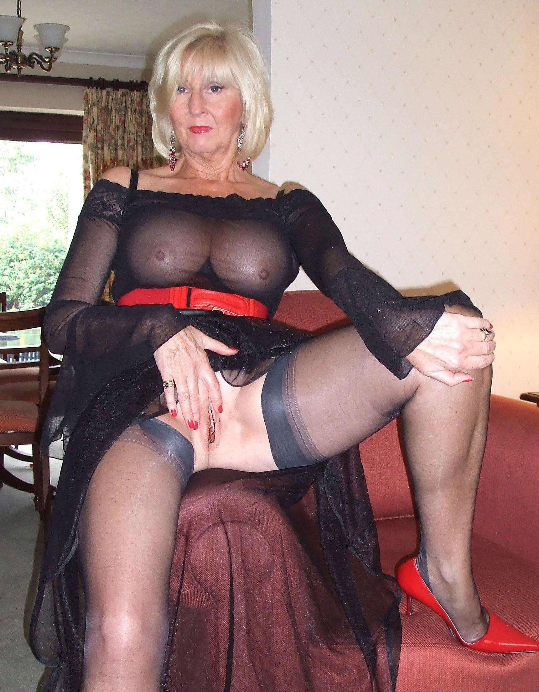 Tailgate reccomend Black pantyhose grannies