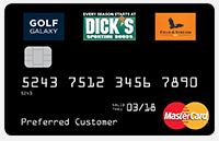 Dick sporting goods credit card