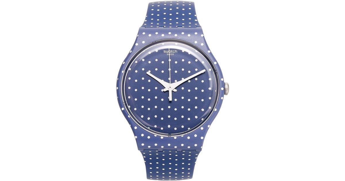 Blue E. reccomend Dot funny swatch