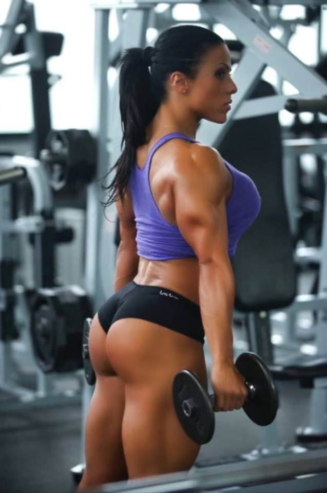 Female bodybuilders with great asses