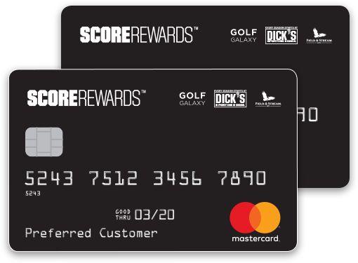 Beamer reccomend Dick sporting goods credit card