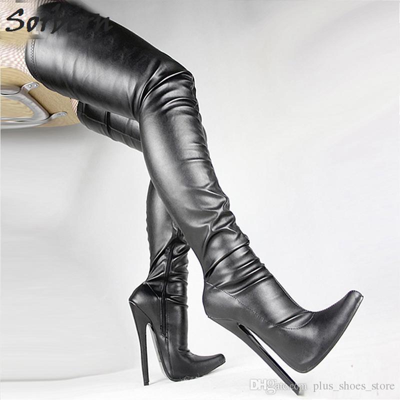 Fetish stiletto boot