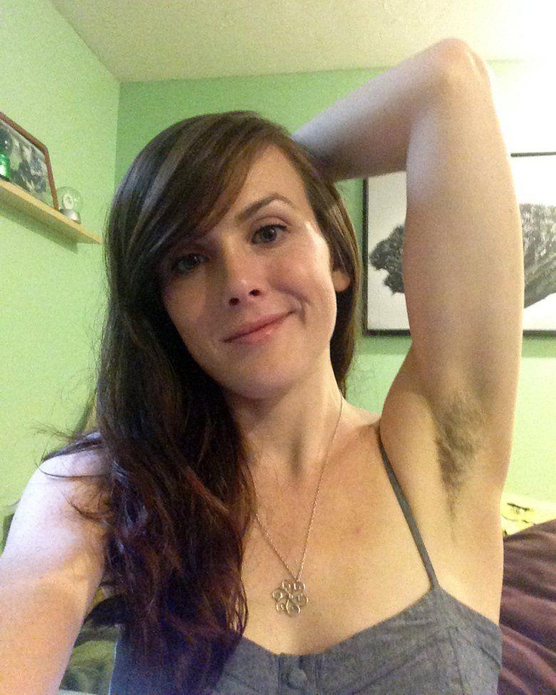 Woman Hairy