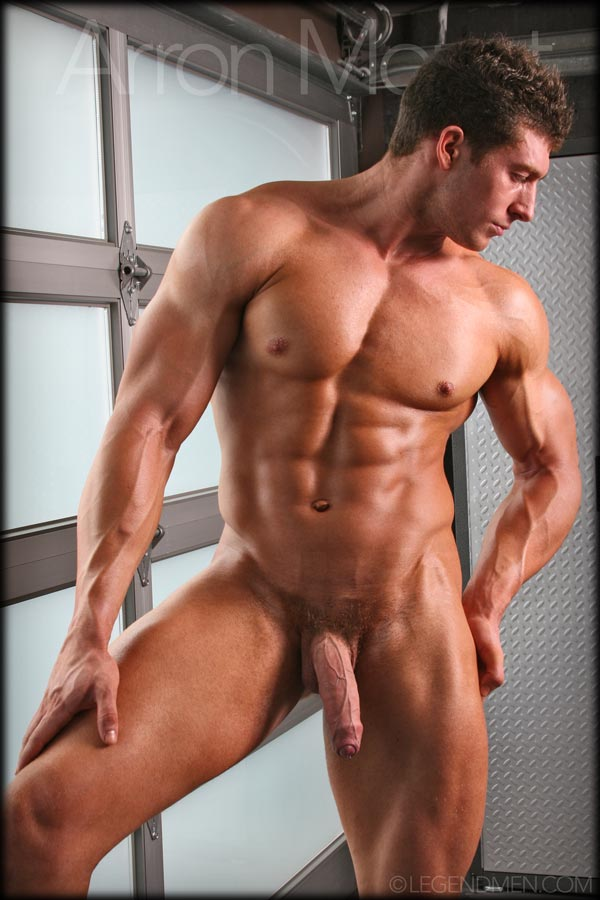 Naked male body builders