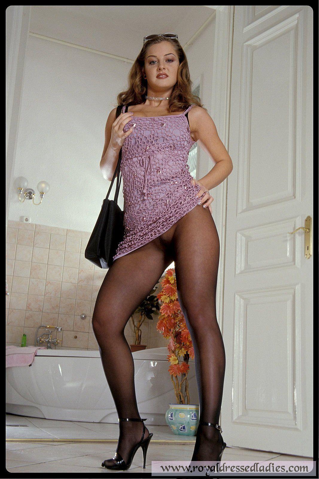 In nylons sex Nylon Porn