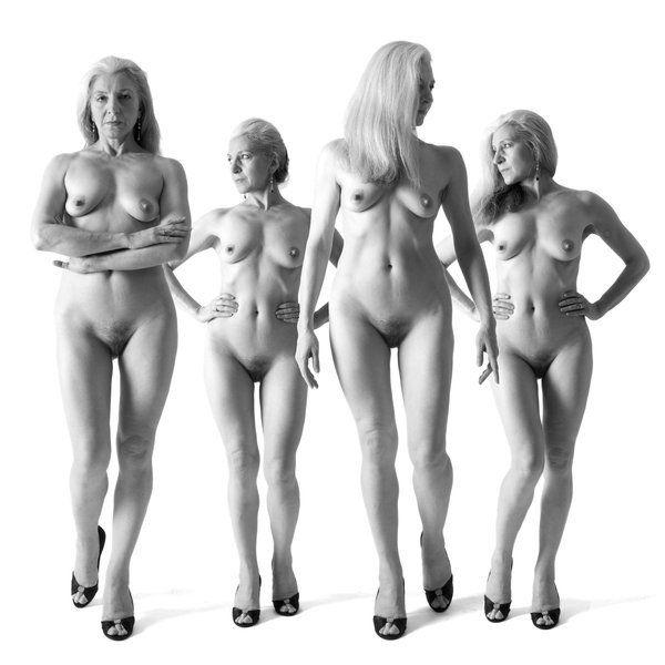 Big naked black breasts