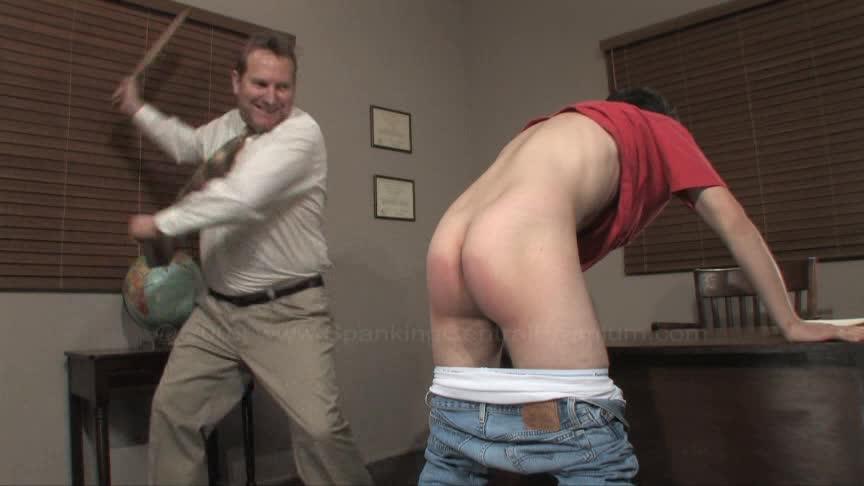 White man spanks black twink new porn